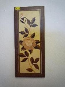Rose Marquetry Picture